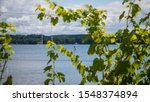 A late summer afternoon at Cayuga Lake in New York