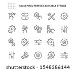 simple set of setup and... | Shutterstock .eps vector #1548386144