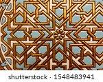 Close Up Of Medieval Tudor Blu...