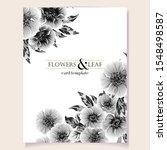 romantic wedding invitation... | Shutterstock .eps vector #1548498587