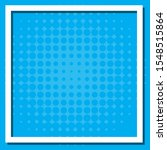 frame template design with blue ... | Shutterstock .eps vector #1548515864