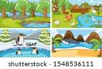 background scenes of animals in ...   Shutterstock .eps vector #1548536111