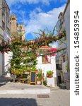 alleyway. rodi garganico.... | Shutterstock . vector #154853954