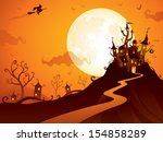 backgrounds,backlit,bat,cartoon,castle,celebration,cemetery,copy space,fairytale,fantasy,full moon,fun,halloween,halloween lantern,haunting