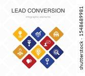 lead conversion infographic 10...