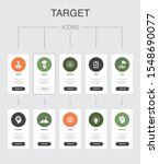 target infographic 10 steps ui...