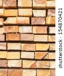pile of wood | Shutterstock . vector #154870421