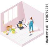 vector isometric house or home...   Shutterstock .eps vector #1548793784