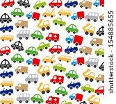 cars design over white... | Shutterstock .eps vector #154885655