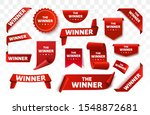 winner tags or labels isolated. ... | Shutterstock .eps vector #1548872681