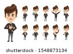 set of businessman creation...   Shutterstock .eps vector #1548873134