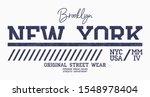 new york athletic t shirt... | Shutterstock .eps vector #1548978404