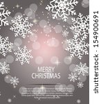 abstract beauty christmas and... | Shutterstock .eps vector #154900691