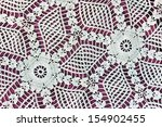 handmade lace as background | Shutterstock . vector #154902455