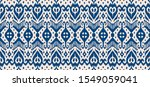 lace border. ikat seamless... | Shutterstock .eps vector #1549059041
