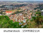 Antananarivo cityscape, Tana, capital of Madagascar, french name Tananarive and short name Tana, Poor capital and largest city in Madagascar