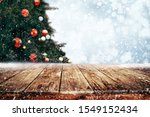 top of empty wood table with...   Shutterstock . vector #1549152434