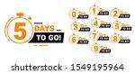 countdown left days banner.... | Shutterstock .eps vector #1549195964