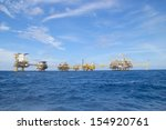 The Offshore Oil Rig In The...