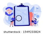 financial analyst with...   Shutterstock .eps vector #1549233824