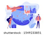couple going on holiday... | Shutterstock .eps vector #1549233851