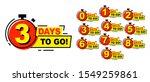 countdown left days banner.... | Shutterstock .eps vector #1549259861