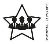 sign concept of teamwork ... | Shutterstock .eps vector #1549315844