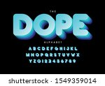 vector of stylized modern font... | Shutterstock .eps vector #1549359014