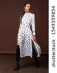 pretty beautiful sexy elegance... | Shutterstock . vector #1549359854