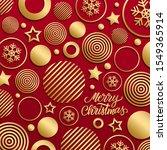 christmas luxury holiday... | Shutterstock .eps vector #1549365914