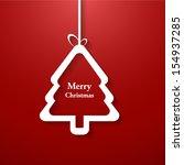 Simple Vector Christmas Tree