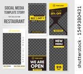 editable post template social... | Shutterstock .eps vector #1549380431