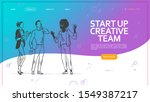 young business  start up...