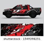 truck decal graphic wrap vector ... | Shutterstock .eps vector #1549398251