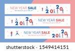 new year sale mobile banner for ... | Shutterstock .eps vector #1549414151