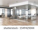 new glass concrete office...   Shutterstock . vector #1549425044