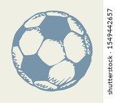 classic fun kickball sphere on...   Shutterstock .eps vector #1549442657