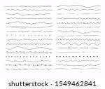 big set of hand drawn line... | Shutterstock .eps vector #1549462841