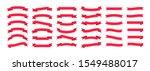 set of hand drawn vector line... | Shutterstock .eps vector #1549488017