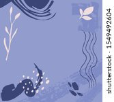 pastel blue and viloet... | Shutterstock .eps vector #1549492604
