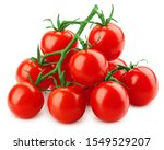 Tomato Cherry On Branch...