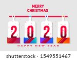merry christmas and happy new... | Shutterstock .eps vector #1549551467