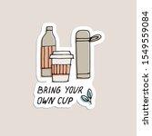 hand draw illustration reusable ... | Shutterstock .eps vector #1549559084