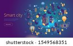 isometric vector concept of... | Shutterstock .eps vector #1549568351