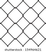 wire fences  chain link  fence  ... | Shutterstock .eps vector #154964621