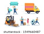 moving house  furniture... | Shutterstock .eps vector #1549660487