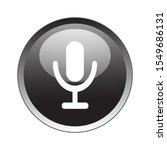 recorder microphone button icon ...