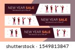 new year sale mobile banner for ... | Shutterstock .eps vector #1549813847