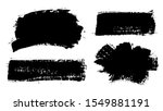 brush strokes. vector... | Shutterstock .eps vector #1549881191