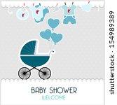 baby card | Shutterstock . vector #154989389